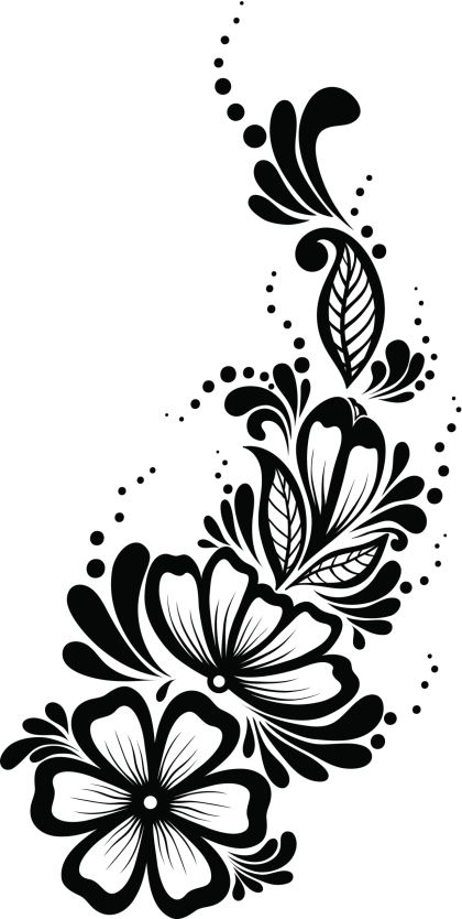 Pantillas de tatuajes de henna - Cuerpo y Arte