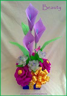 Crepe paper flowers http://crafty-little-beanut.blogspot.com.au/