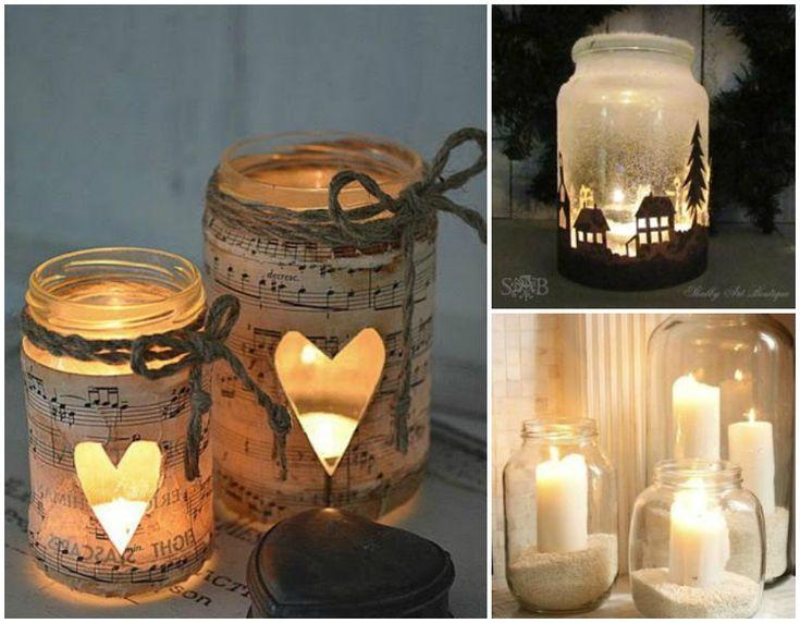 Come riciclare i vasetti di vetro: le candele
