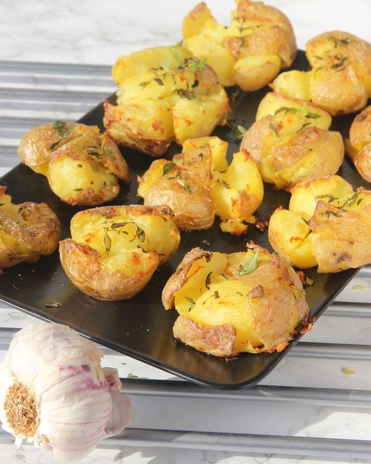 Krossad potatis – Lindas Bakskola