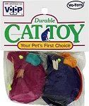VoToys Twin Standing Mice 2 pack Cat Toy -- Click image to review more details.