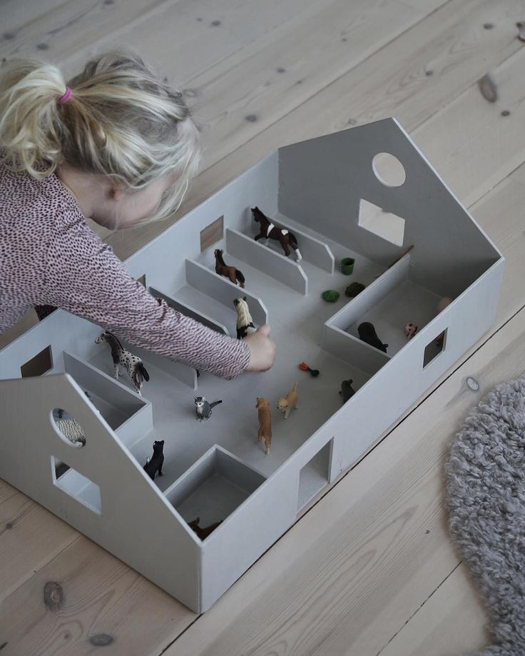 DIY Pferdestall