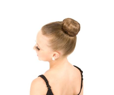 Ballet Bun Merediths Hair Pinterest