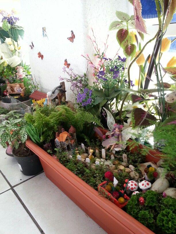 Mini jardin de hadas