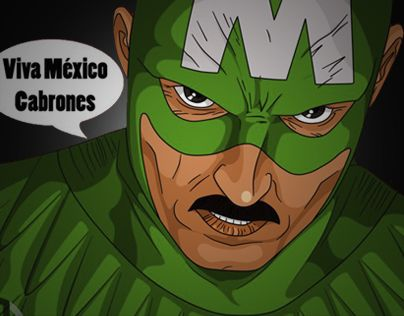 Echa un vistazo a este proyecto @Behance: \u201cSuper Heroes Mexicanos\u201d https://www.behance.net/gallery/13373491/Super-Heroes-Mexicanos