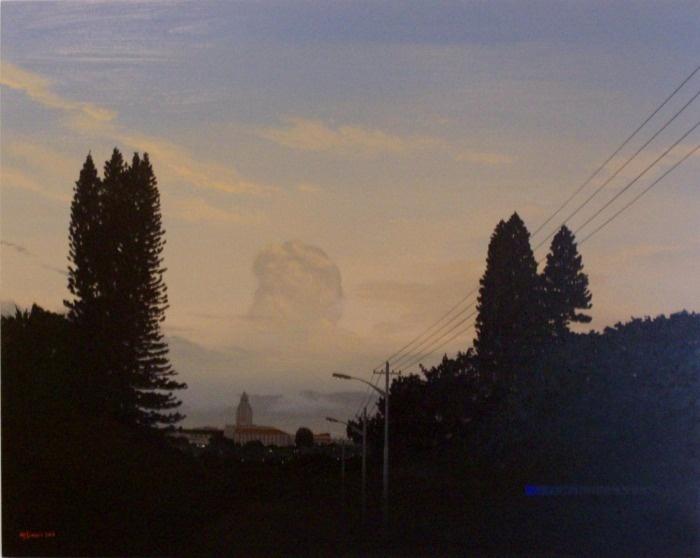South African Landscape by M.J. Lourens
