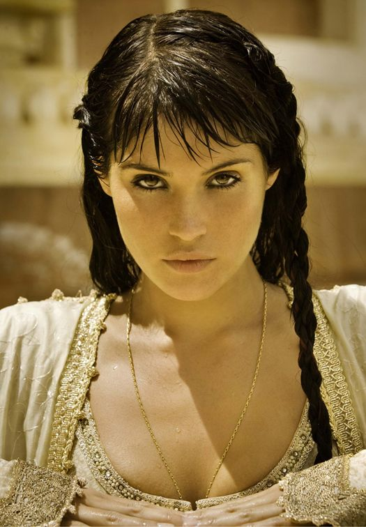 Gemma Arterton as Relena.