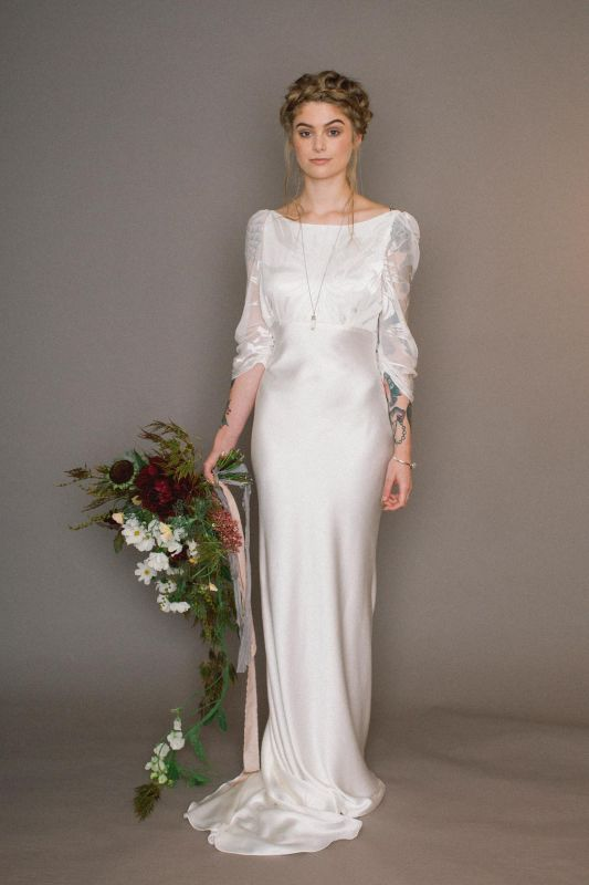Exquisitely Stylish Wedding Gowns For The Free Spirited Bride Looking A Cool Comfortable Fashionable Alternative Handmade In York England
