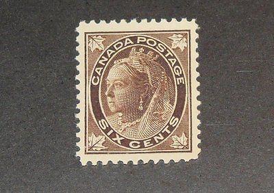 Stamp Pickers Canada 1898 Victoria Leaf 6c Scott #71 MNH VF XF $400+