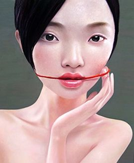 by Ling Jian, born 1963 in Shan Dong Province, China.