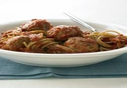 I just made Whole-Wheat Spaghetti with Turkey Meatballs from www.marthastewart.com on supercook.com!