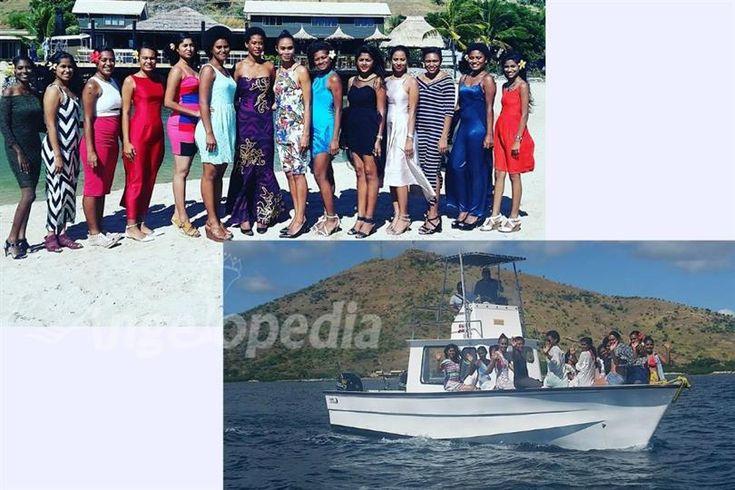 Miss World Fiji 2017 finalists at Golden Point Resort