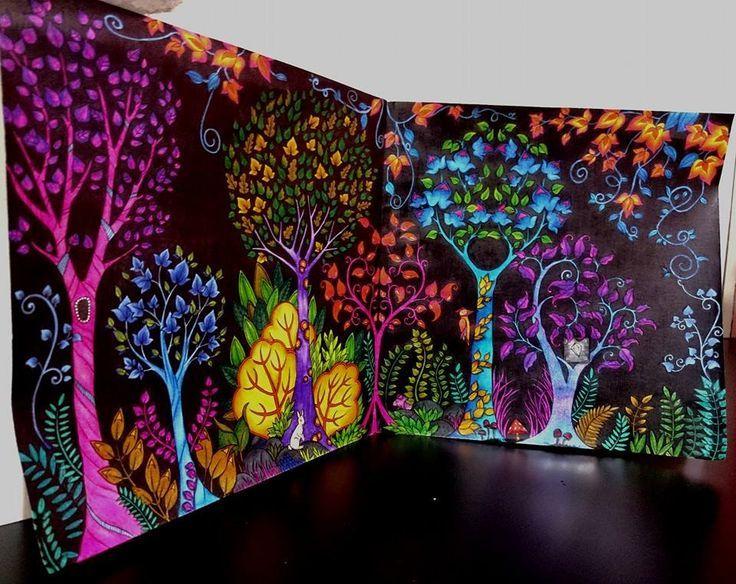 Garden Animals Coloring Pages : Best johanna basford enchanted forest secret garden lost ocean