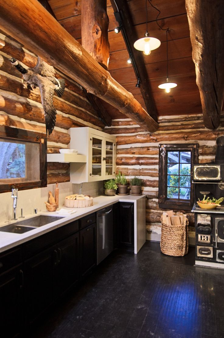 Craftsman homes for american dream builders fans zillow blog -  Dreambuilders See More Check Out The Kitchen Transformation On This Beautiful Cabin Way To Go Team Red