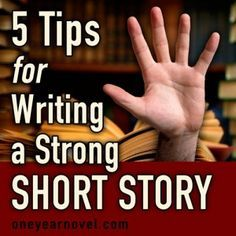 Caleb Galloway shares what he has learned on his short story writing journey.