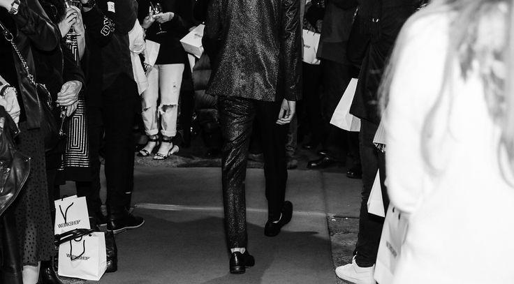 #suit #tuxedo #runway Photo by Damien Nikora