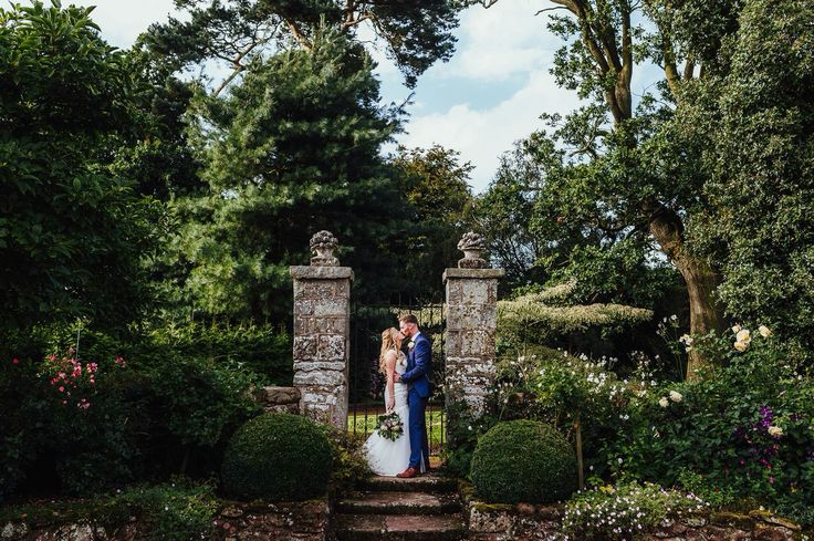 English country garden. Bride and groom. Wedding @ The Citadel, Shropshire. Documentary style photography by Louise Powell | Wedding & Portrait Photographer | Telford, Shropshire #romance