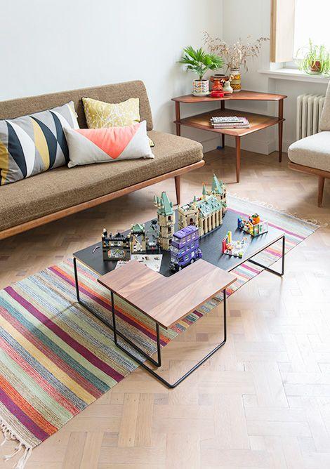 Scandinavian Living Room I PS I love the Harry Potter Lego