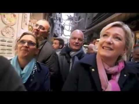 Marine Le Pen  discours le 27 février 2017 au Mont-Saint-Michel
