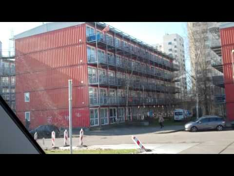 1000 Shipping Container City cheap houses , Amsterdam , Holland.