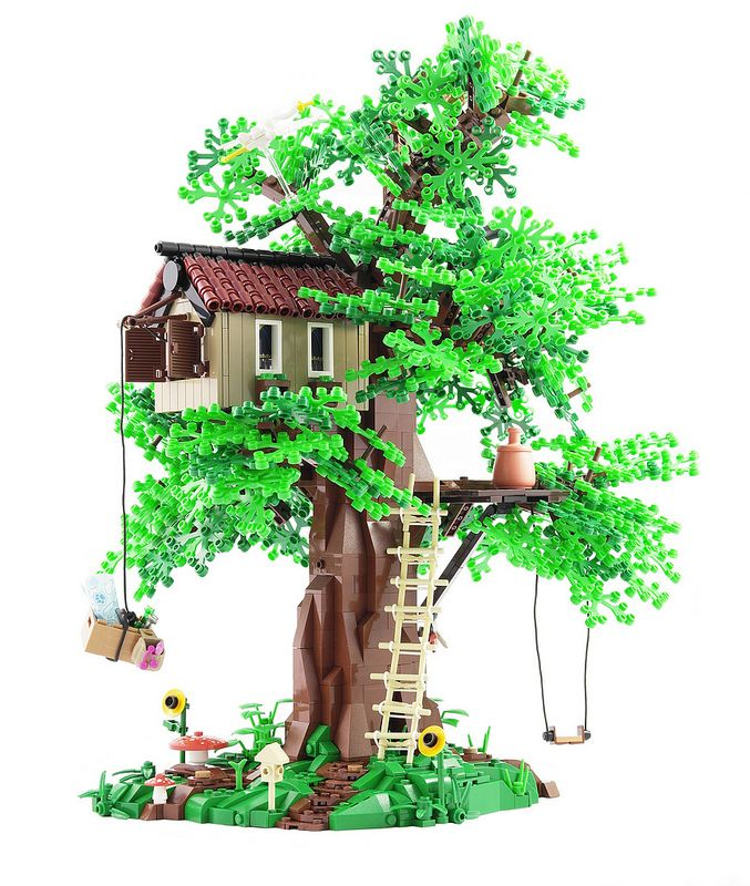My Tree House   by Legopard
