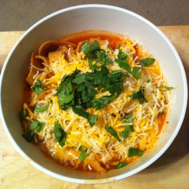 Vegetarian tortilla soup. Repinned from Vital Outburst clothing ...