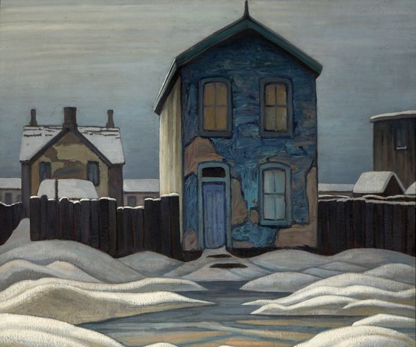 """telethon: """" Grey Day in Town, (1923 /reworked early 1930s) Lawren Harris """""""