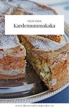 Kardemummakaka |Swedish Cardamom Cake, recipe in Swedish Heavenly Cupcake