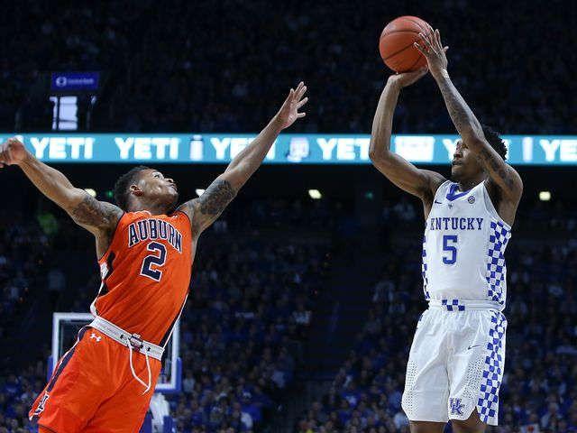 UK Basketball   UK tops Auburn for fifth straight SEC win