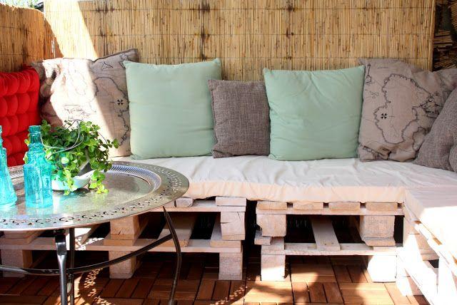 paletten sofa f r drau en home pinterest. Black Bedroom Furniture Sets. Home Design Ideas