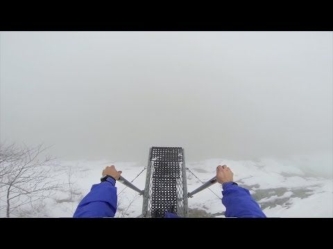 Leap Of Faith -- This is a cool video of Marshall Miller jumping off a cliff without seeing what is below.