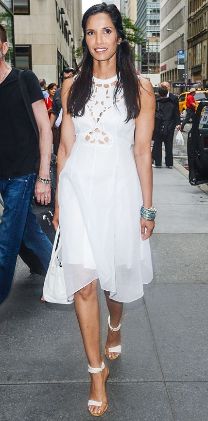 Look of the Day - June 26, 2014 - Padma Lakshmi from #InStyle
