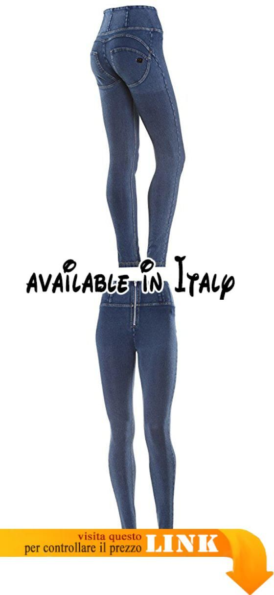 online retailer a6fc4 c1115 B016A4B17K : Freddy Donna Pantalone Lungo WR.UP Shaping ...