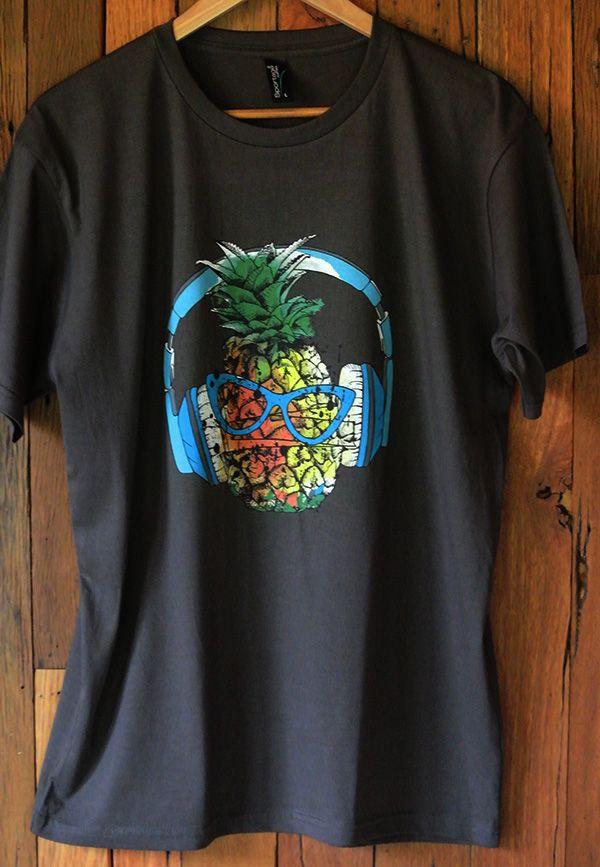 Mens T-shirt Cool Pineapple