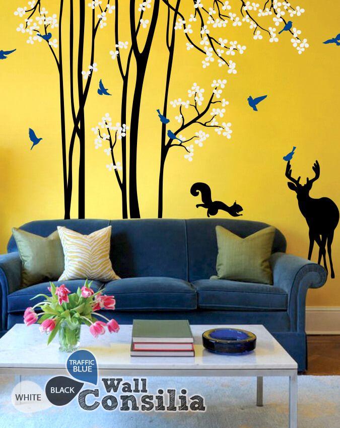 Best WallConsilia Tree Style Decals Images On Pinterest Vinyl - Nursery wall decals gender neutral