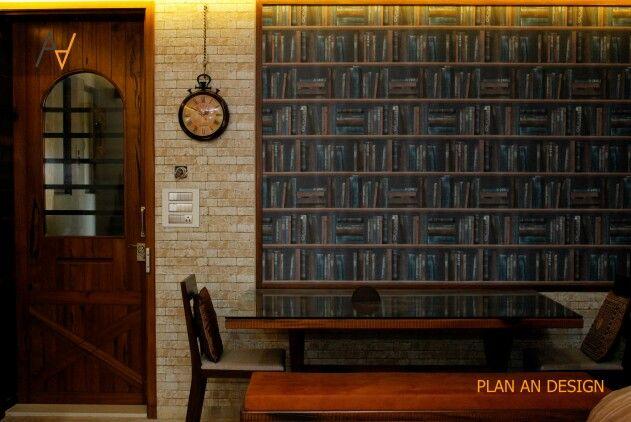 #living room #dining area #barndoor