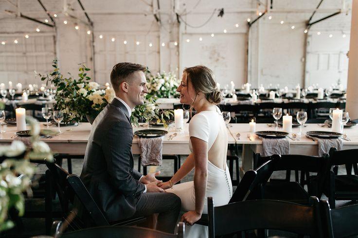 Image 25 - David + Jenna: A minimalist warehouse wedding in Real Weddings.