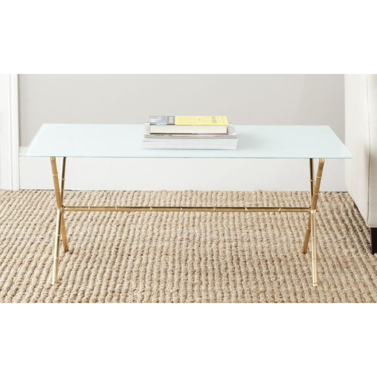 Beautiful Safavieh Treasures Brogen Gold/ White Top Accent Table By Safavieh Nice Look