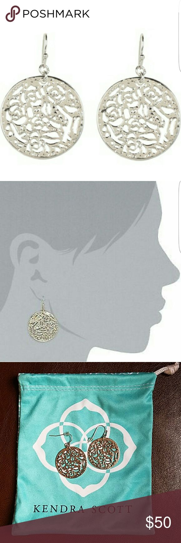 Kendra Scott Madina Earings Used few times in excellent condition. Price is firm. Kendra Scott Jewelry Earrings