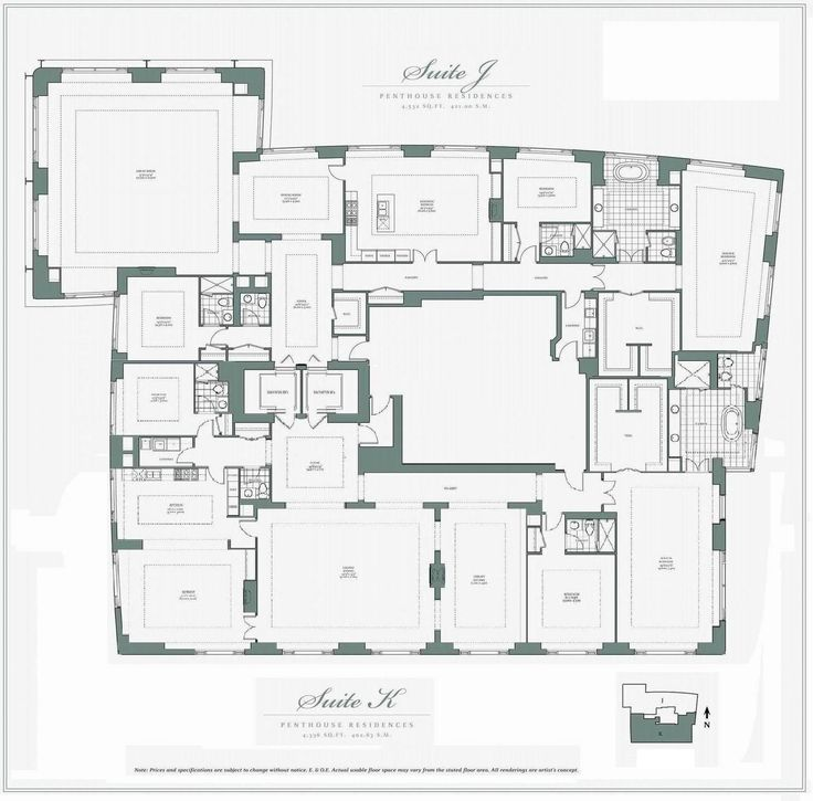 Penthouses In Chicago Floor Plans Am Uncertain If This