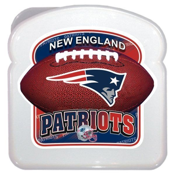 #NFL 41422 New England #Patriots Team 3d Sandwich Box Portable Container from $6.36