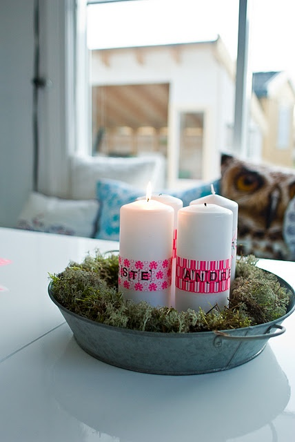 Pink: Candles Lights, Candles Wreaths, Christmas 2013, Advent Advent, Wreaths Ideas, Christmas Decor, Advent Candles, Advent Wreaths, Crafty Ideas
