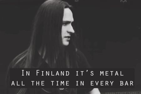 In Finland it's metal all the time in every bar - Mathias Lillmåns, Finntroll