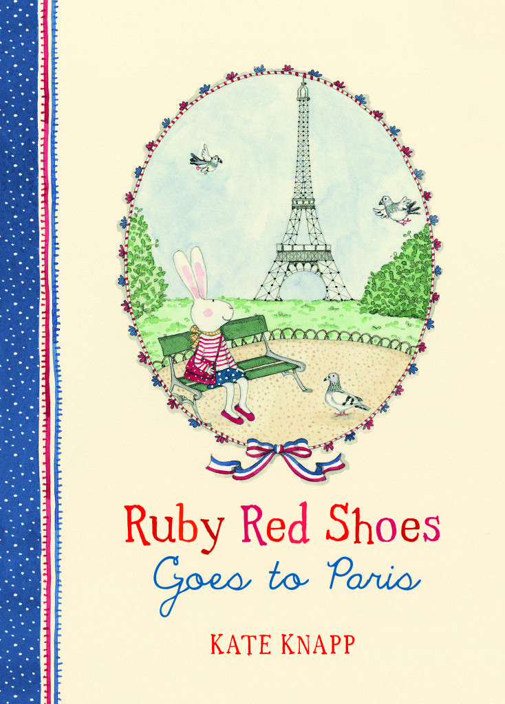 Ruby Red Shoes Goes to Paris  - perfect little series of books for young children just starting out on reading.