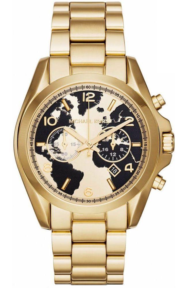 MICHAEL KORS Watch Hunger Stop Runway Gold Stainless Steel Chronograph MK6272 - E-oro.gr MICHAEL KORS ΓΥΝΑΙΚΕΙΑ ΡΟΛΟΓΙΑ