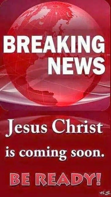 Matthew 24:36 But of that day and hour knoweth no man, no, not the angels of heaven, but my Father only. Dear Lord, please let me be rapture ready, I don't want to miss Your coming. Thank You for the reminder because sometimes we forget that this earth is not our home!!....~Amen~ http://anitahewitt.blogspot.com/2014/08/matthew-2436-food-for-soul-evan-anita.html Thank You For Your Support: http://www.bryanthewitt.com/donate-1/
