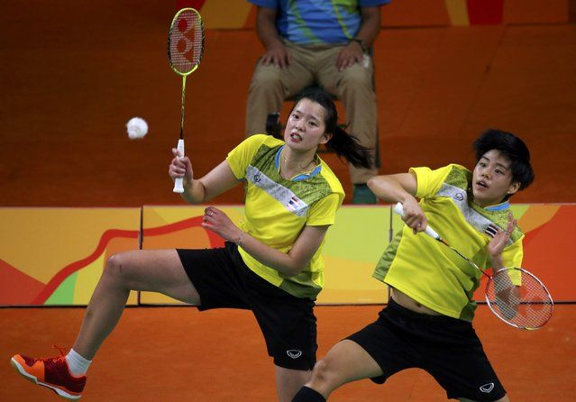 2016 Rio Olympics, Badminton, Women's Doubles Group Play, Riocentro, Pavilion 4…