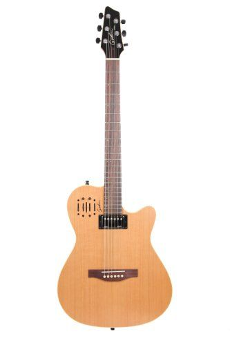 Godin A6 Two-Chambered Electro-Acoustic Guitar (Ultra Natural) >>> For more information, visit image link.