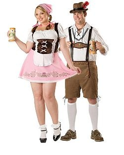 Fetching Fraulein Womans Plus | Cheap Couples Halloween Costume for Women