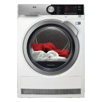 #AEG T8DEC946S #With the AEG-T8DEC946S freestanding heat pump condenser tumble dryer everything you wash can now be expertly dried and cared for. The 9KG tumble dr...